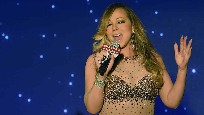 Mariah Carey en Las Vegas en 2015