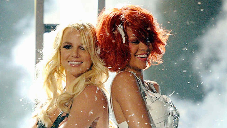 Britney Spears y Rihanna en los Billboard Music Awards 2011