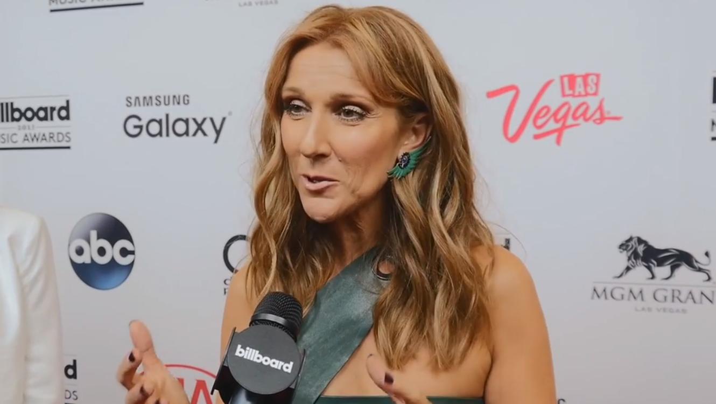 Celine Dion en entrevista con Billboard en los BBMAs 2015