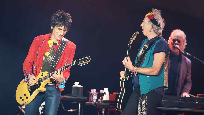 Rolling Stones en concierto en Auckland en 2014
