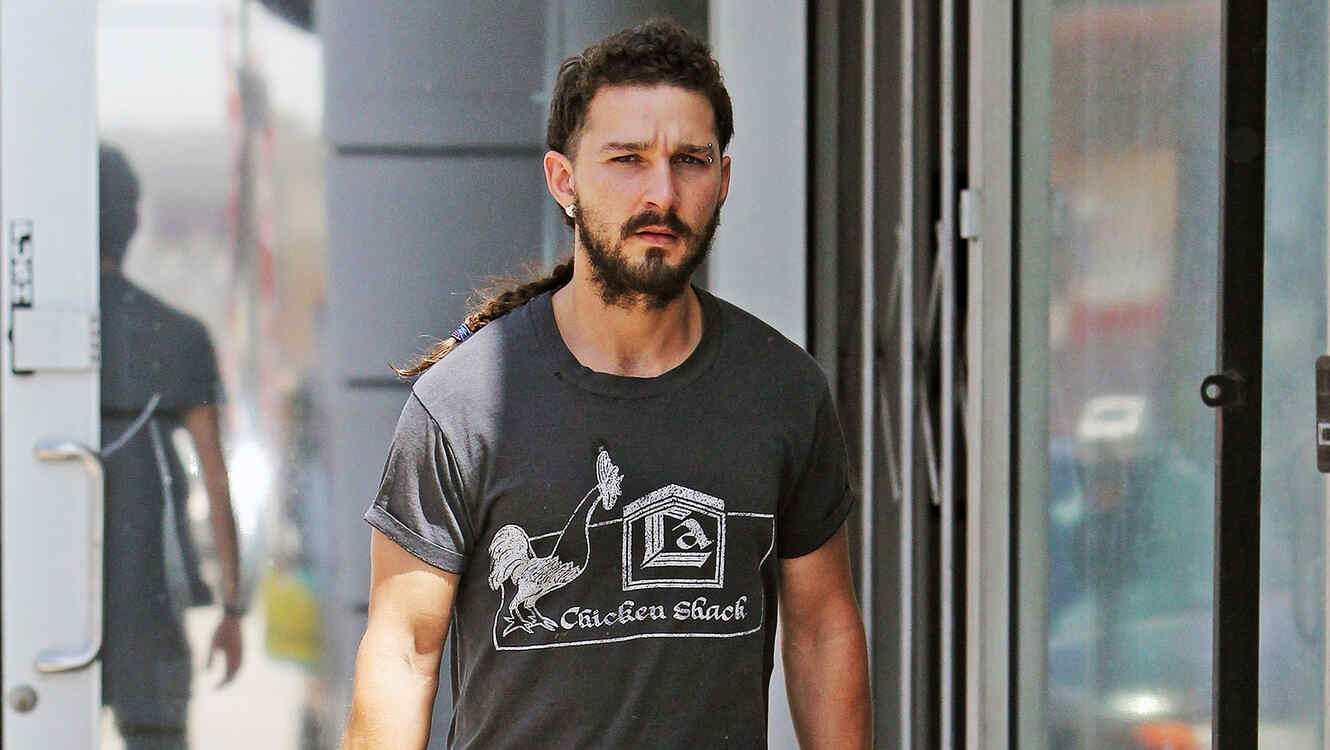 Shia labeouf en Los Angeles