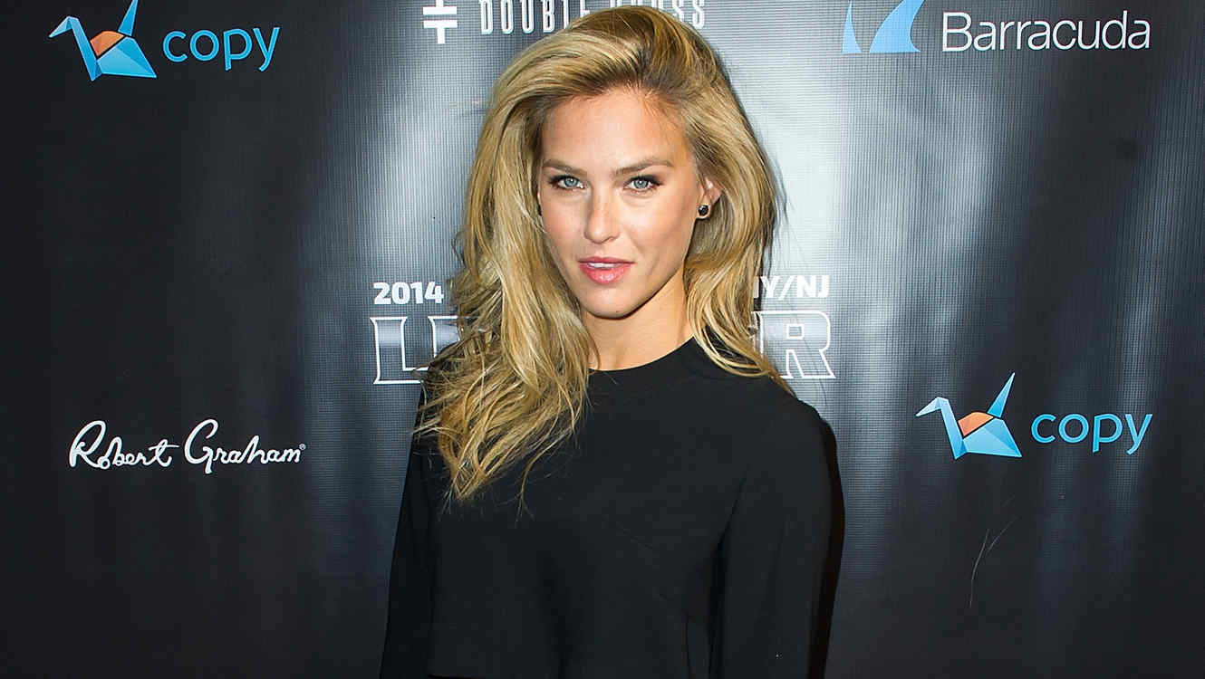 Bar Refaeli en el evento 'Leather & Laces' en Nueva York