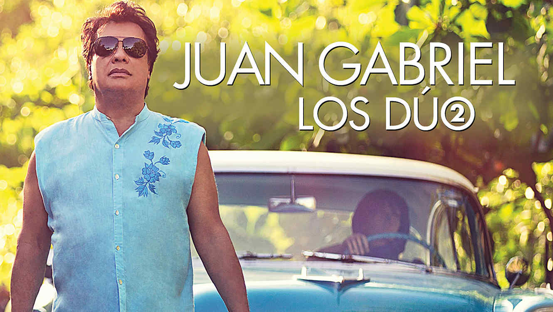 "La portada de ""Los dúo 2"" de Juan Gabriel"