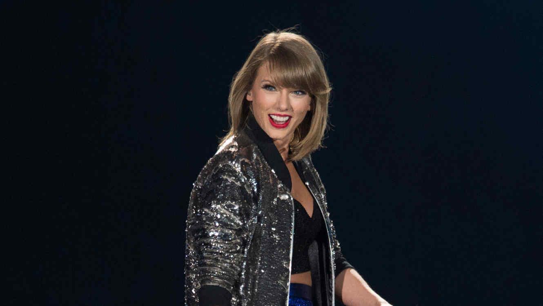 Taylor Swift en su gira 1989 en Houston, Texas