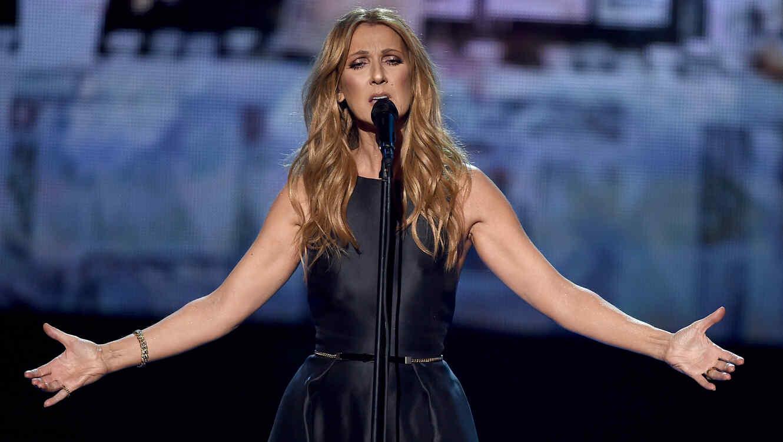 Celine Dion en los American Music Awards 2015
