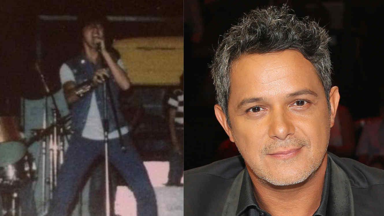 Alejandro Sanz antes y después
