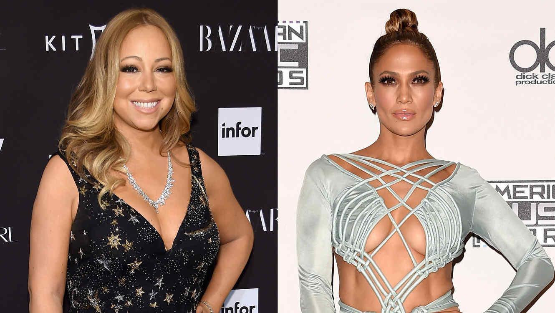 Mariah Carey y Jennifer Lopez