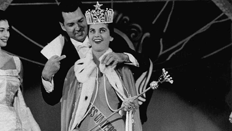 Luz Marina Zuluaga en Miss Universo 1958