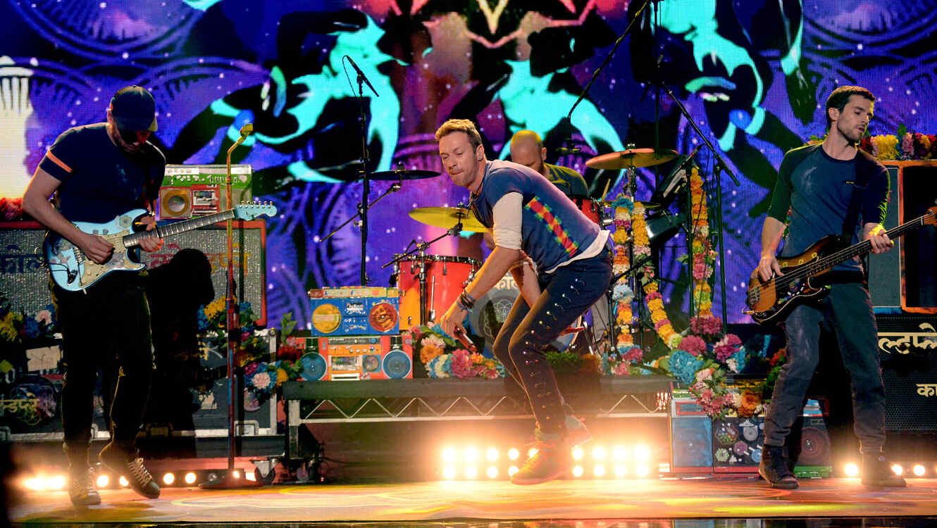 Coldplay en los American Music Awards 2015