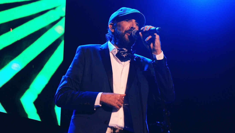 Juan Luis Guerra en un concierto en 2015