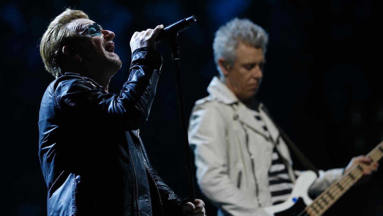 U2 en concierto en Paris 2015