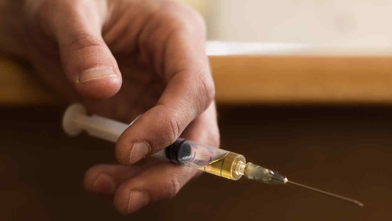 Inyección y drogas