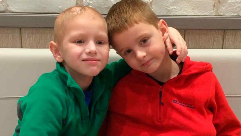 George McIntosh y su hermano Archie