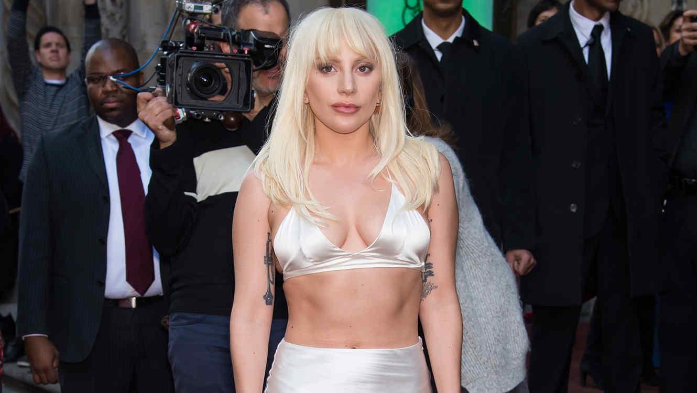 """Lady Gaga en el evento """"Mujer del año"""" de Billboard"""