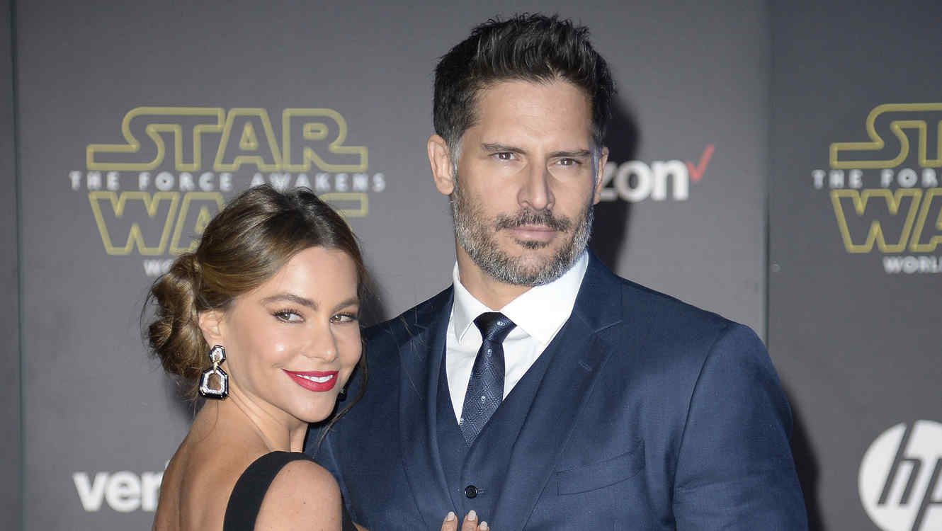 "Actors Manganiello and Vergara arrive at the premiere of ""Star Wars: The Force Awakens"" in Hollywood"