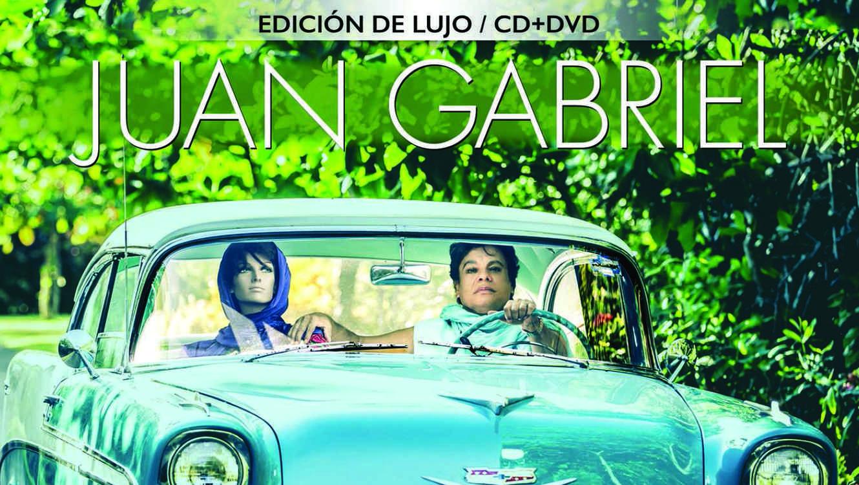 "Cover del álbum ""Los dúo 2"" de Juan Gabriel"