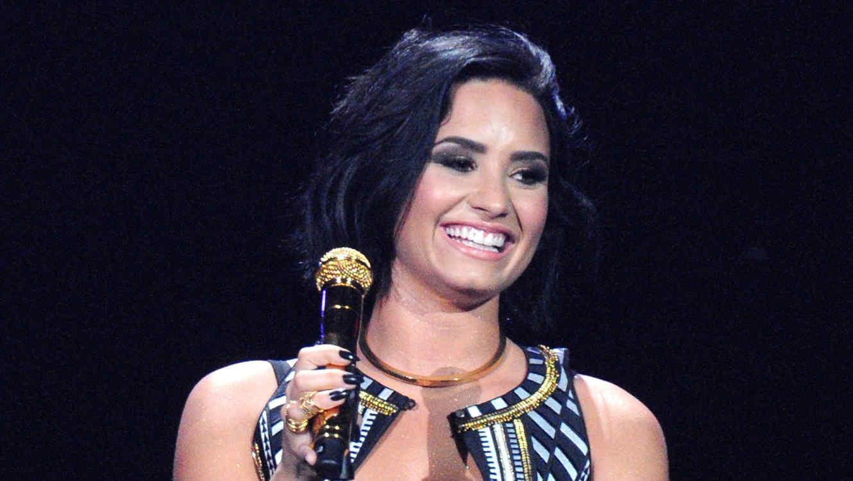 Demi Lovato en el Jingle Ball en Tampa 2015