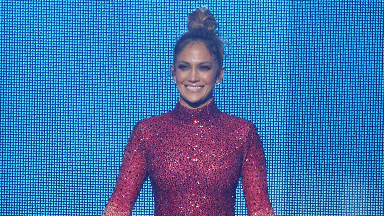 Jennifer Lopez durante los AMA 2015