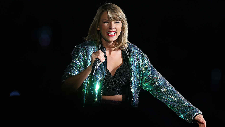 Taylor Swift durante su gira 1989