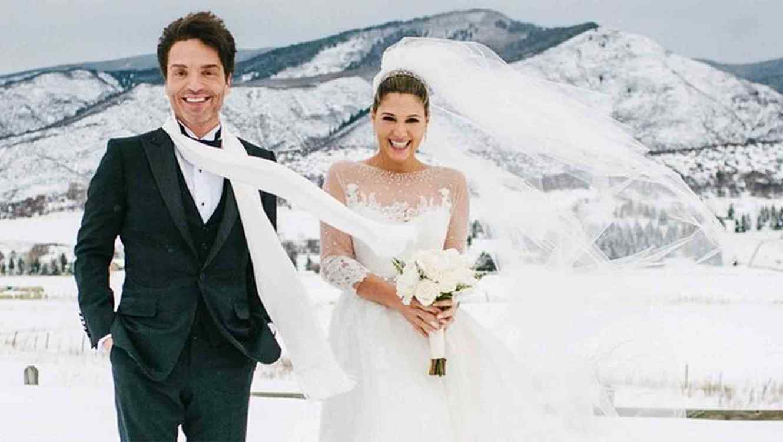 Daisy Fuentes y Richard Marx se casaron