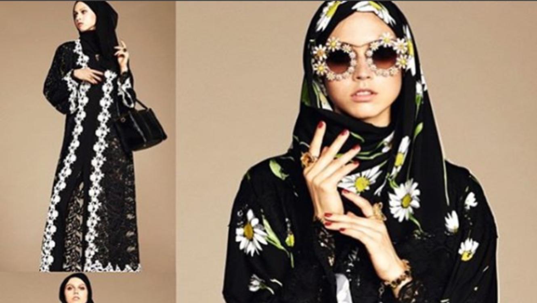 Dolce & Gabanna lanza su colección de hiyabs