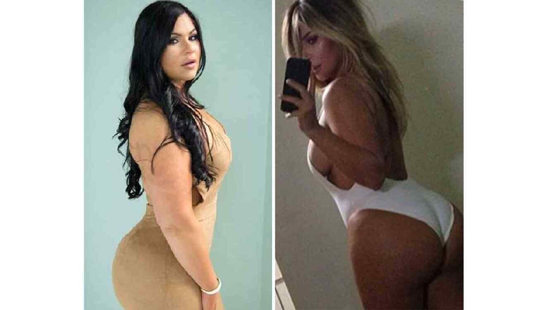 Marlene Chinea y Kim Kardashian