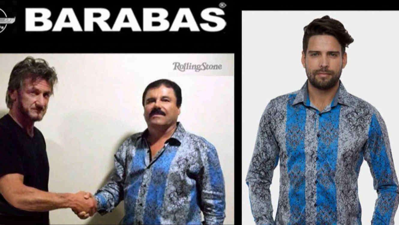 De moda camisa usada por El Chapo