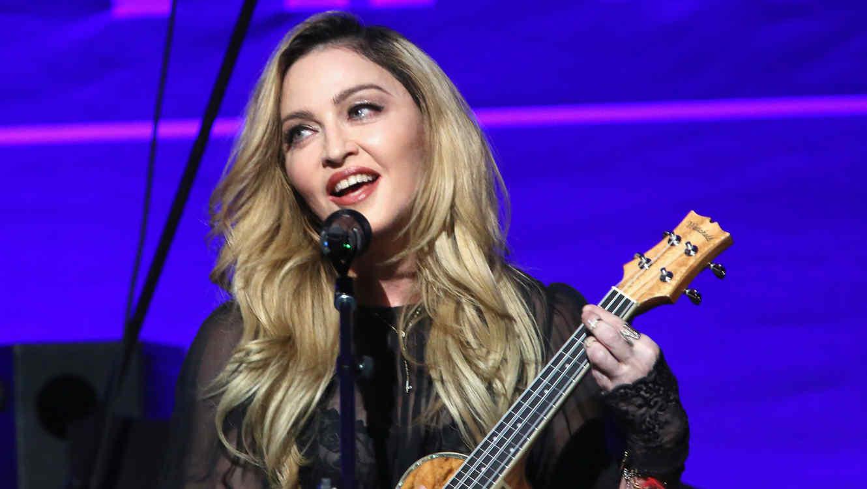 Madonna en la Gala Anual de Ayuda a Haití 2016