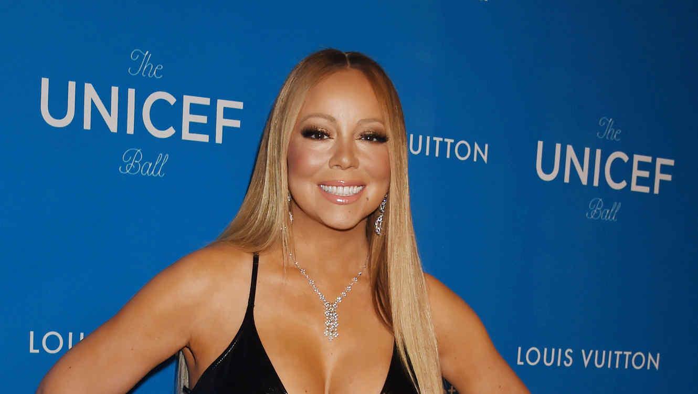 Mariah Carey en la gala de UNICEF en 2016