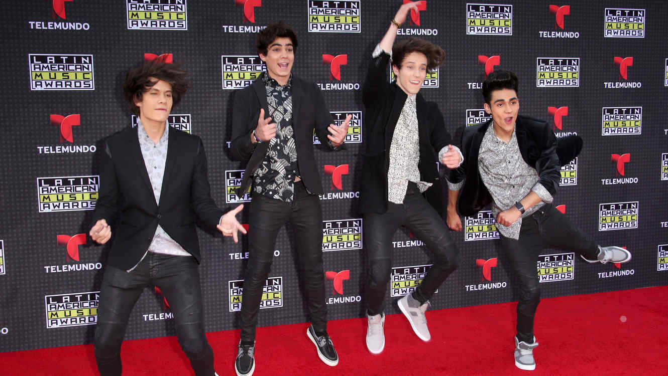 CD9 en los Latin AMAs en 2015