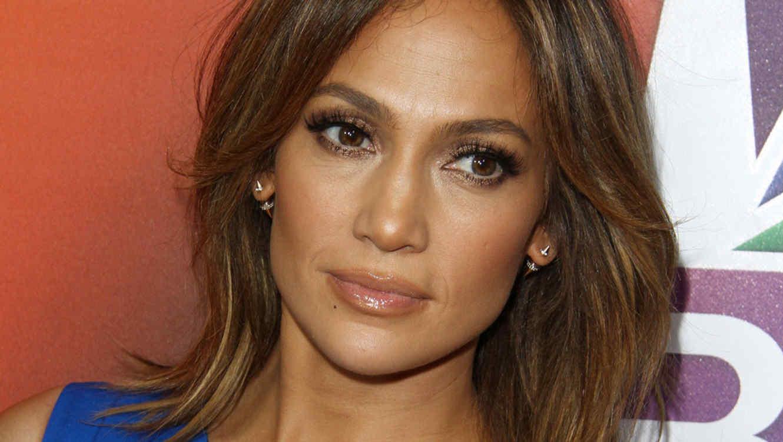 Jennifer Lopez en un evento de NBC en 2016