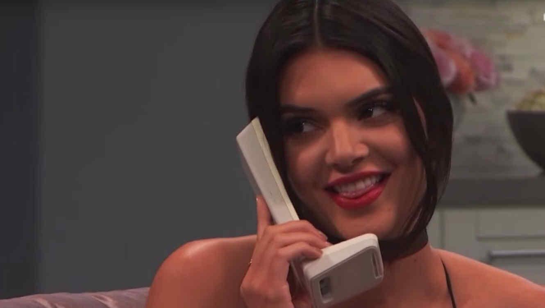 PERÚ: Kendall Jenner quiso hacerle broma a Kim Kardashian pero falló