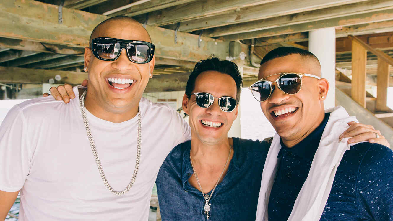 Marc Anthony y Gente de Zona.