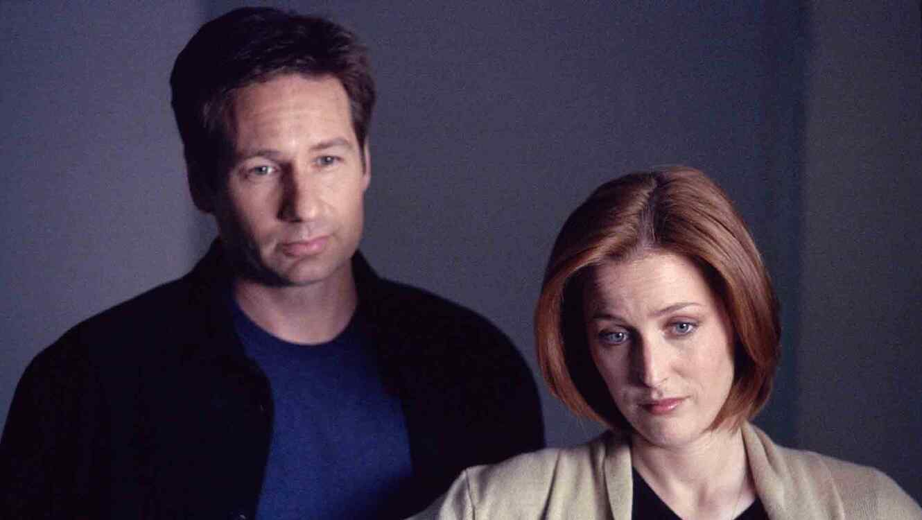 Mulder Scully en 'X-Files'