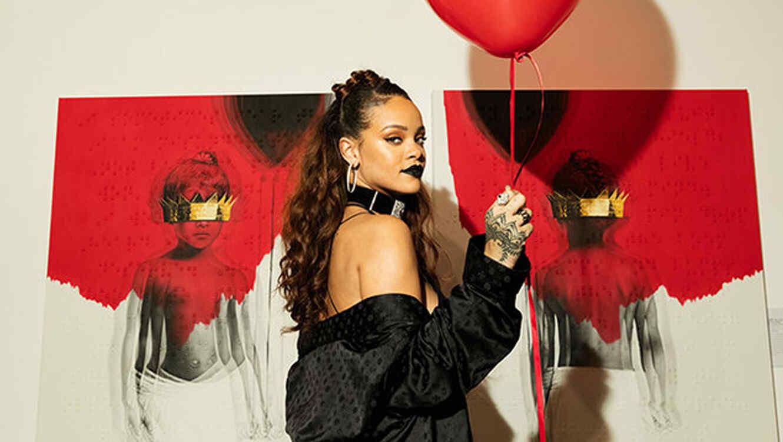 Portada del álbum de Rihanna, 'Anti'