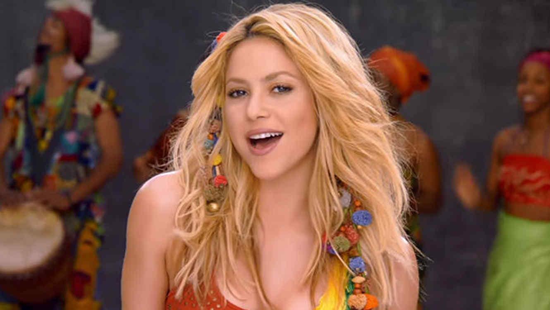 Imagen de Shakira en el video Waka Waka