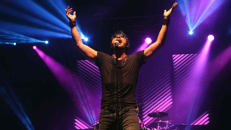 La Ley en concierto en Puerto Rico en 2014