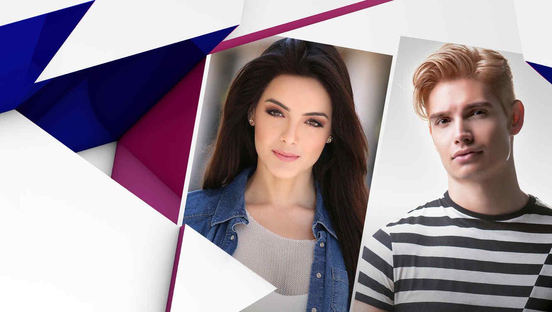 Daniela Navarro y Christian Acosta Latin Billboards