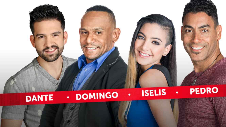 Dante, Domingo, Iselis y Pedro, nominados de la cuarta semana de Gran Hermano