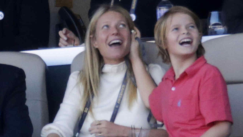 Gwyneth Paltrow y su hijo Moses Martin