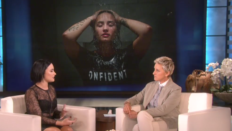 Demi Lovato en Ellen DeGeneres