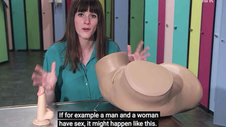 Programa de TV noruego enseña a los jóvenes cómo masturbarse
