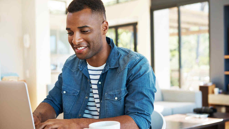 Establish a direct deposit or automatic transfer to savings