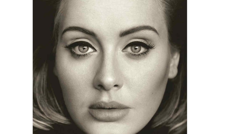 """Adele en la portada de """"25"""""""