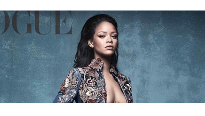 Rihanna en la portada de Vogue