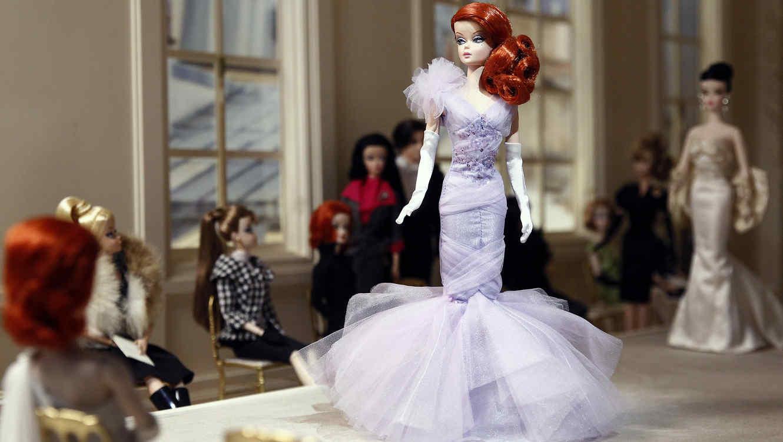 Exposición Barbie en el Museo de las Artes Decorativas en París.