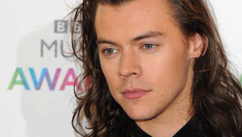 Harry Styles en la alfombra roja de los premios Billboard 2016