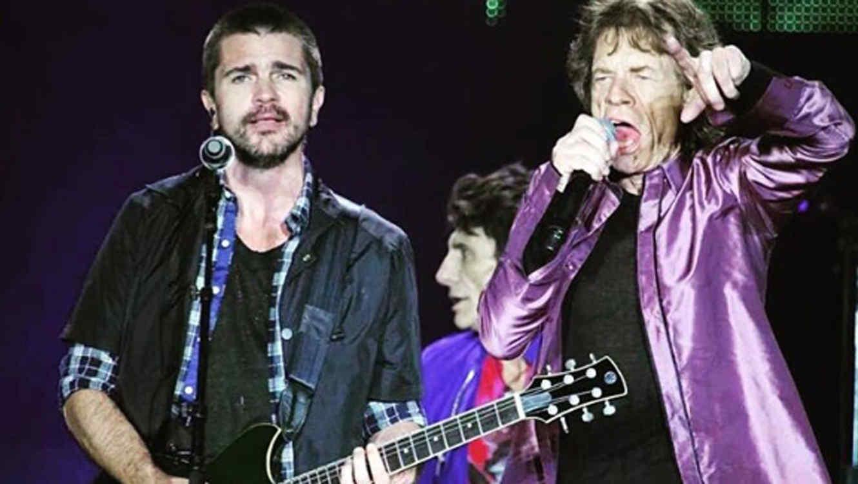 Juanes y los Rolling Stones en Colombia