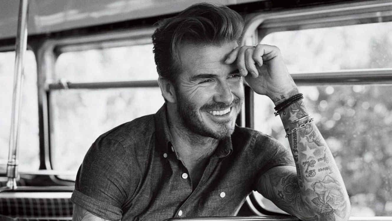 David Beckham en la revista GQ de Abril 2016