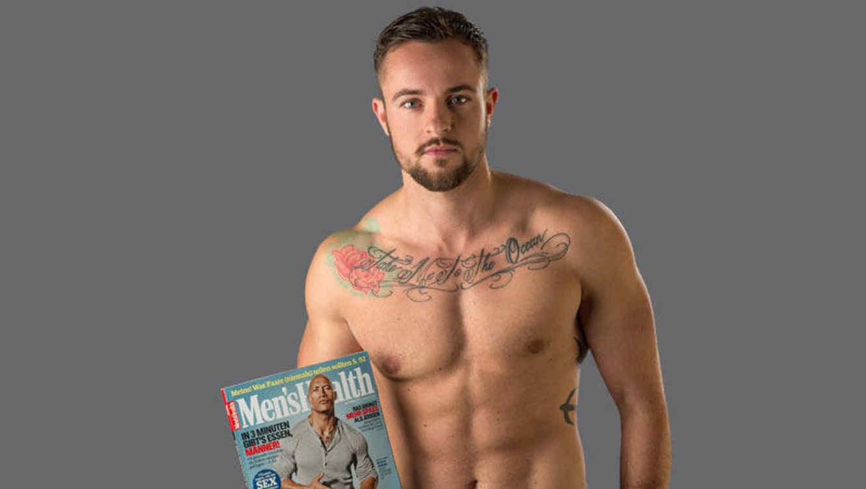 Benjamin Menzer posa para Men's Health